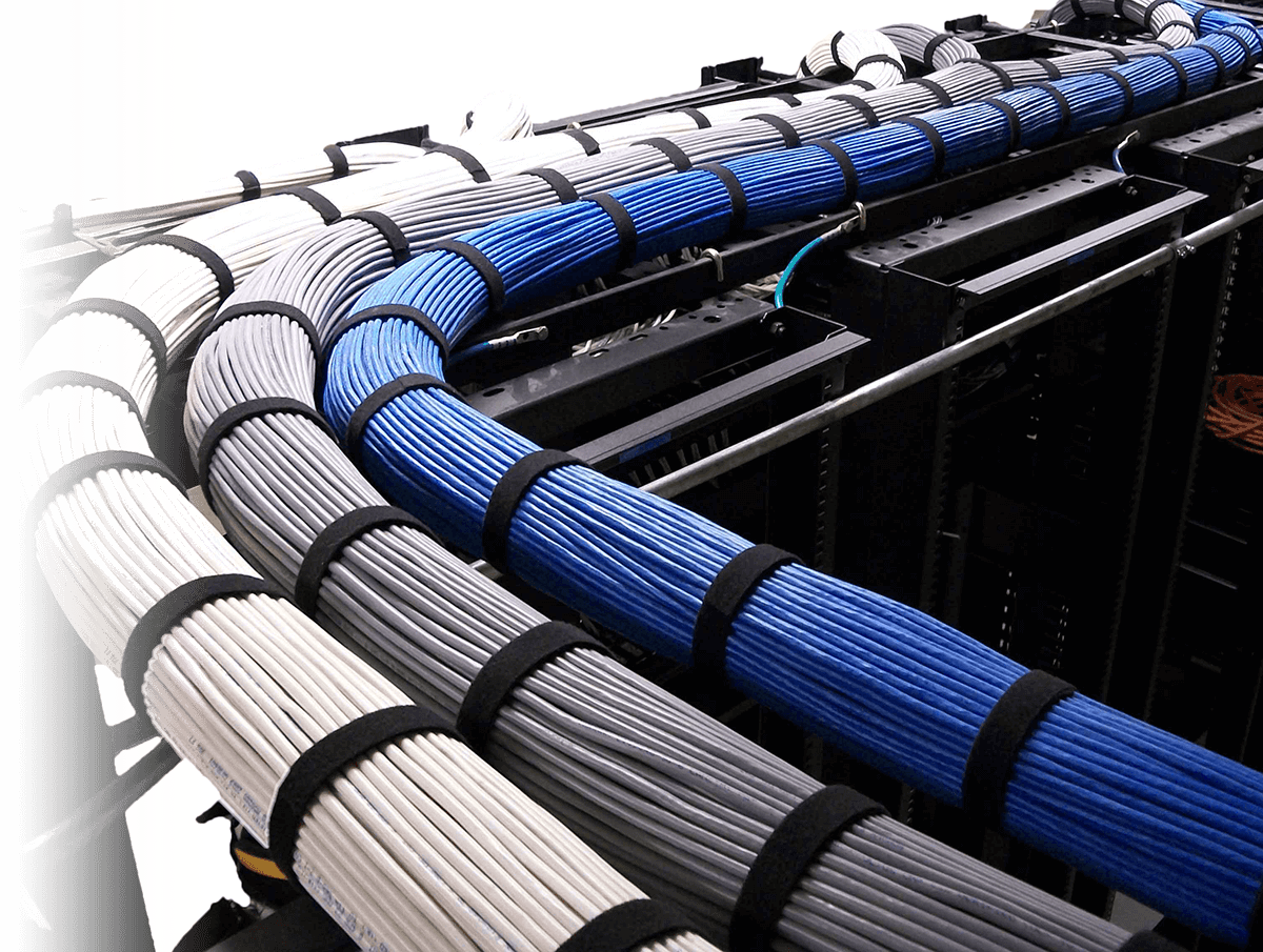 Structured Cabling Aces Audio Visual Solutions Wiring Panel Design Horizontal Workstation Demarc Extensions For Voice And Data Circuits Installations Moves Adds Changes Maintenance Survey